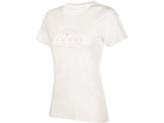 Mammut Seile T-shirt Dame bright white